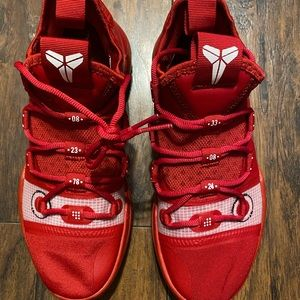 Kobe AD TB Gym Red Basketball Shoes AT3874-600
